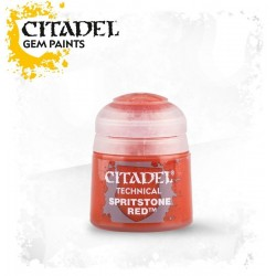 SPIRITSTONE RED Technical Gem paint Citadel rosso colore 12 ml Warhammer