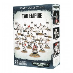 START COLLECTING TAU EMPIRE 2018 Warhammer 40k 23 miniature Citadel
