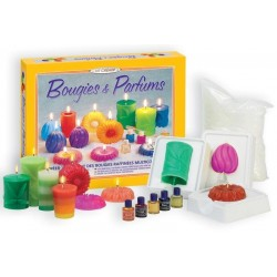 CANDELE E PROFUMI Sentosphere 235 kit creativo per creare candele profumate da 8 anni