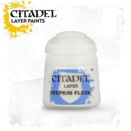 DEEPKIN FLESH colore Citadel layer Paint acrilico 12 ml Games Workshop