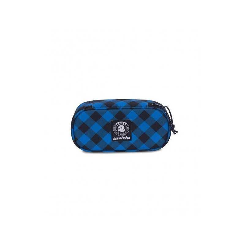 ASTUCCIO LIP XL pencil bag INVICTA fantasy BLU portapenne INTERNO ATTREZZATO