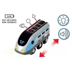 SET LOCOMOTIVA CON TUNNEL Brio 33834 Smart Tech Treno intelligente
