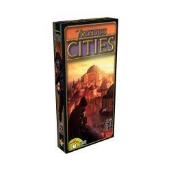 7 WONDERS CITIES ENG promo card expansion + LOUIS