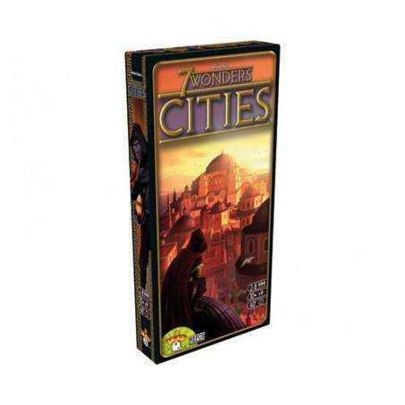 7 WONDERS CITIES ITA espansione + carta promo LOUIS