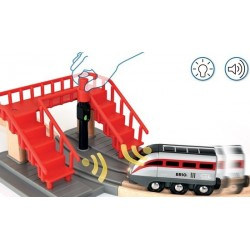 FERROVIA SMART TECH locomotiva e tunnel azione Brio 33873 treno intelligente