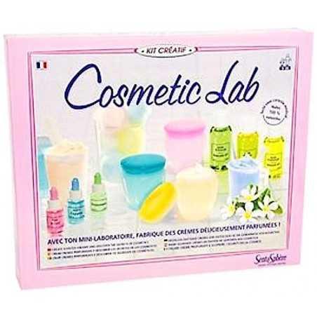 LABORATORIO COSMETICO cosmetic lab SENTOSPHERE kit artistico CREA I TUOI COSMETICI creativo 8+