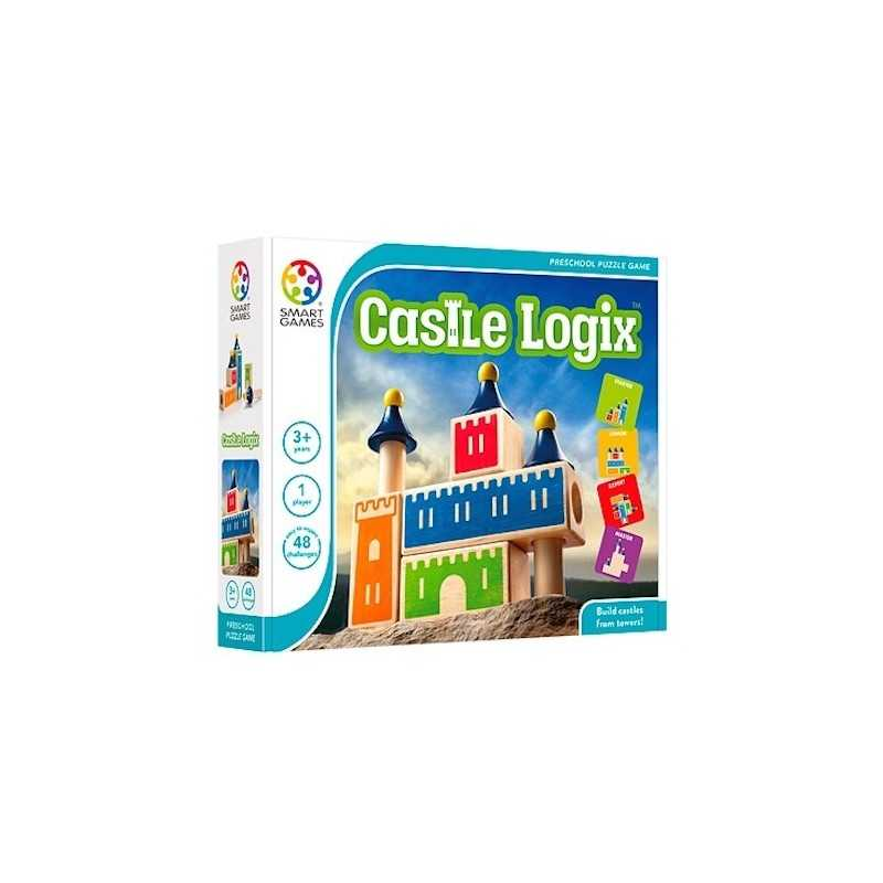 CASTLE LOGIX gioco solitario 2018 logica SMART GAMES puzzle EDUCATIVO età 3+
