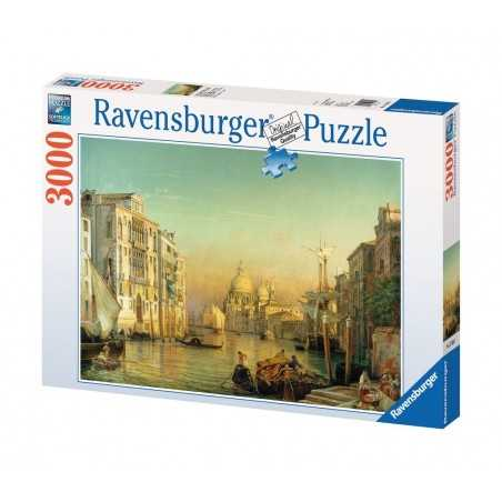 PUZZLE ravensburger CANAL GRANDE 3000 pezzi ORIGINALE 121x80cm PAESAGGI