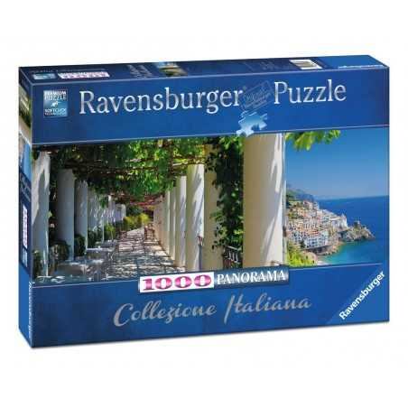 PUZZLE ravensburger AMALFI 1000 pezzi PANORAMA 70 x 50 cm