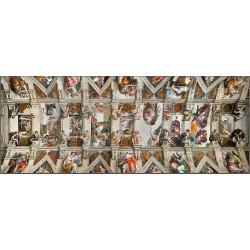PUZZLE ravensburger CAPPELLA SISTINA panorama 1000 pezzi 70 x 50 cm HIGH FIDELITY MASTERPIECE