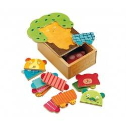 Wooden Puzzle TREE DOUDOU