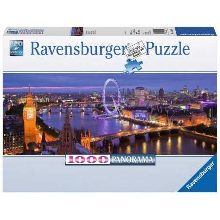 PUZZLE ravensburger LONDRA DI NOTTE panorama 1000 pezzi 98 x 38 cm