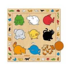 """Wooden Puzzle """"colors"""""""