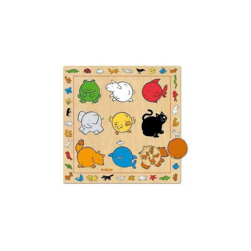 """Holz Puzzle """"Farben"""""""