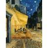 PUZZLE Ravensburger ESTERNO DI CAFFE' DI NOTTE di Van Gogh 1000 PEZZI 50 x 70 cm ART high fidelity masterpiece