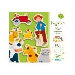 Magnetic FARM wooden silhouettes