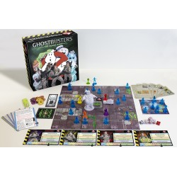 GHOSTBUSTERS THE BOARD GAME gioco da tavolo cooperativo in italiano e inglese Crytpozoic