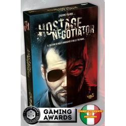 HOSTAGE NEGOTIATOR edizione italiana gioco di carte solitario negoziazione