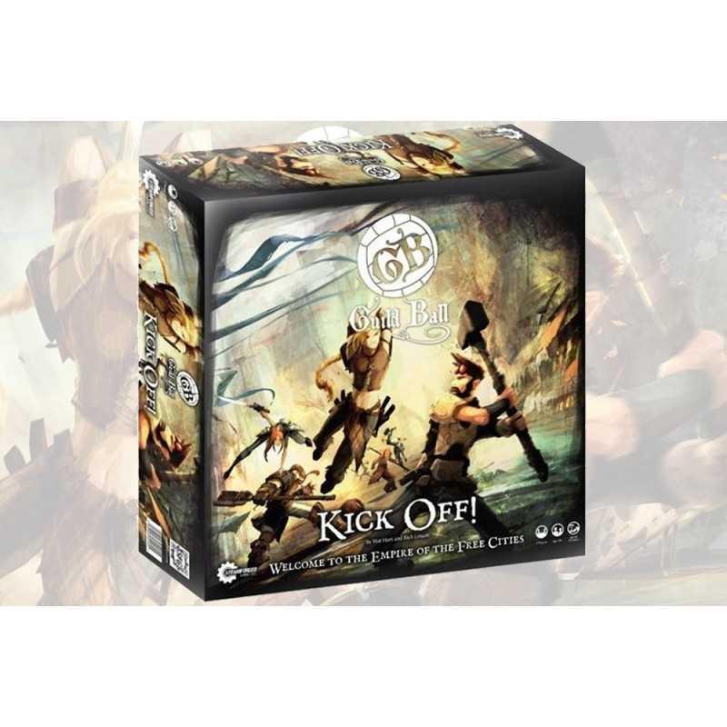 GUILD BALL KICK OFF scatola base gioco di miniature Steamforged Games
