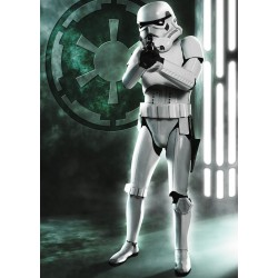 PUZZLE Ravensburger STAR WARS Stormtrooper 1000 PEZZI 50 x 70 cm DISNEY ultimate collection