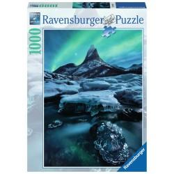 PUZZLE Ravensburger STETIND Norvegia del Nord 1000 PEZZI 50 x 70 cm SOFT CLICK