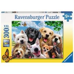 PUZZLE 300 PEZZI Ravensburger TENERE COCCOLE xxl CANI cuccioli 49 X 36 CM età 9+