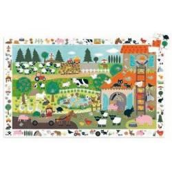 """Entdeckung Puzzle """"Bauernhof 2012"""" 35 Stück 3-5 Jahre"""