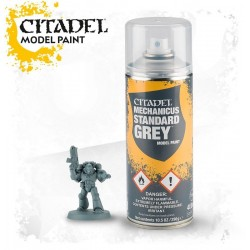 SPRAY MECHANICUS STANDARD GREY grigio paint base acrilico Citadel 400 ml