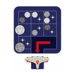 ASTEROID ESCAPE solitario gioco puzzle Smart Games spaziale da 8 anni