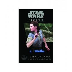 STAR WARS LEGION espansione LEIA ORGANA pack comandante ASMODEE Disney MINIATURA età 14+