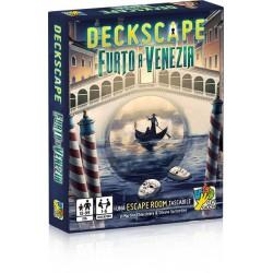 DECKSCAPE furto a Venezia ESCAPE ROOM gioco di carte ROMPICAPO in italiano DVGiochi ANCHE SOLITARIO