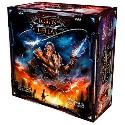 LORDS OF HELLAS + MINIATURA PROMO gioco ASMODEE controllo del territorio IN ITALIANO età 14+