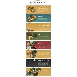 THE ISLAND OF EL DORADO Kickstarter first edition strategic board game Black Box