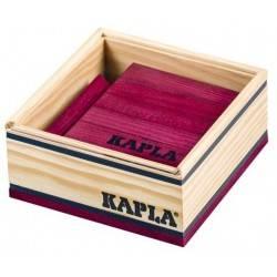 Kapla case 40 PCs couleur pourpre
