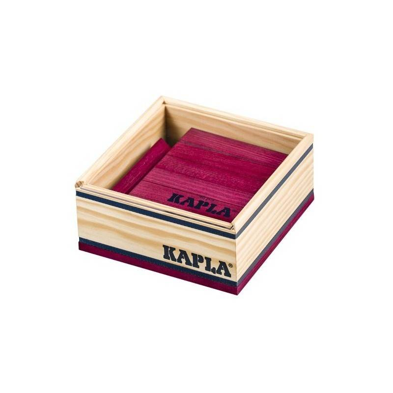 Kapla box 40 PCs color purple