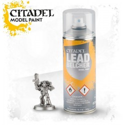 LEADBELCHER SPRAY metallco Citadel model paint base per miniature Games Workshop