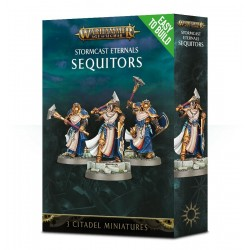 SEQUITORS STORMCAST ETERNALS Warhammer Age of Sigmar 3 miniature Citadel Easy to Build