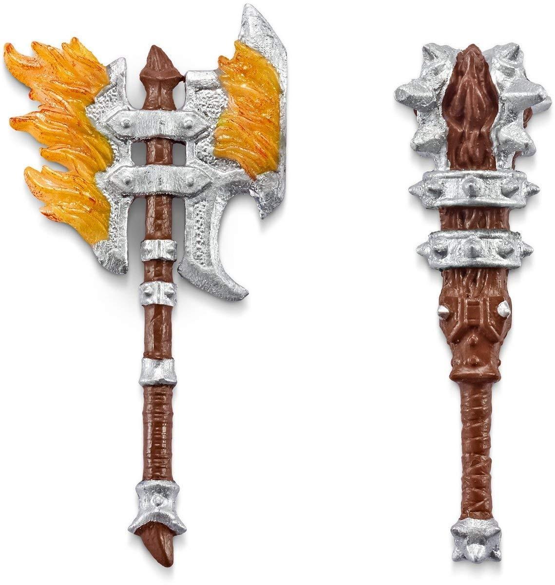 SCHLEICH eldrador 70122 Drago Cavalieri xyrok eroe con arma cavaliere NUOVO OVP