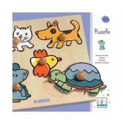 "Puzzle ""Puppies"" age 12 months +"