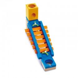 Quadrilla SONIC PLAYGROUND in legno HAPE xilofono E6022 pista 8 BIGLIE INCLUSE età 4+