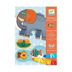Kit de marqueurs coloriage pour les plus petit « ZOO ZOO »