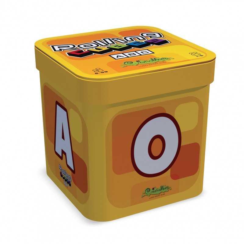 ROLLING CUBES ABC gioco di dadi LETTERE crea la parola CREATIVAMENTE educativo 5+