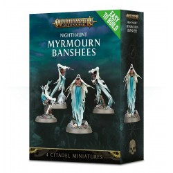 MYRMOURN BANSHEES Nighthaunt Warhammer Age of Sigmar 4 Miniature Easy to Build Citadel