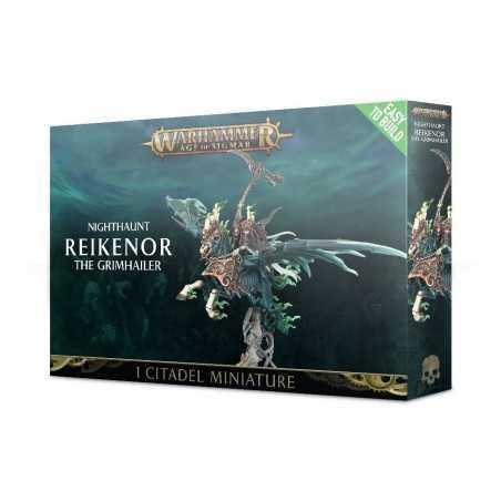 REIKENOR THE GRIMHAILER Nighthaunt Warhammer Age of Sigmar Miniature Easy to Build Citadel