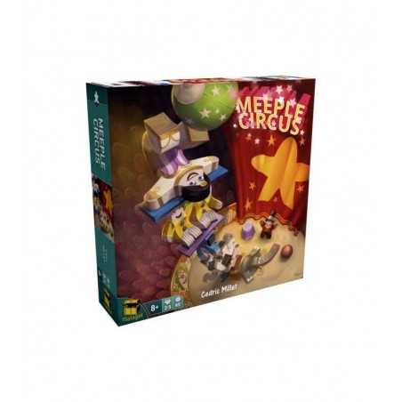MEEPLE CIRCUS party game CIRCO gioco ITALIANO matagot SPETTACOLO CIRCENSE età 8+