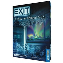 LA BASE NEI GHIACCI ARTICI escape room EXIT il gioco ITALIANO kosmos AVANZATO età 12+