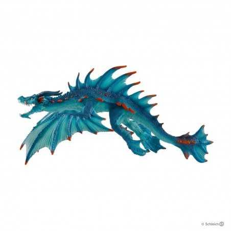 SEA MONSTER drago d'acqua ELDRADOR creatures SCHLEICH miniature in resina 70140 fantasy