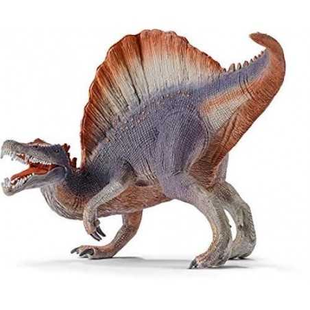 SPINOSAURO VIOLA dinosauro DINOSAURS grande SCHLEICH miniature in resina 14542 età 3+