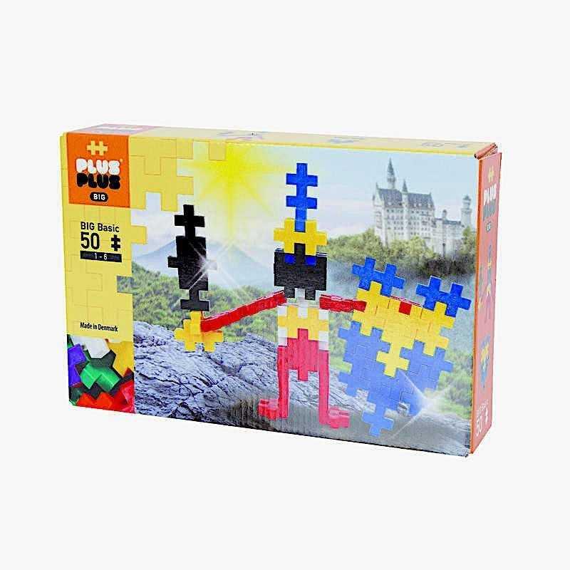 BIG BASIC costruzioni PLUS PLUS 50 pezzi PLUSPLUS gioco modulare PLASTICA età 1+