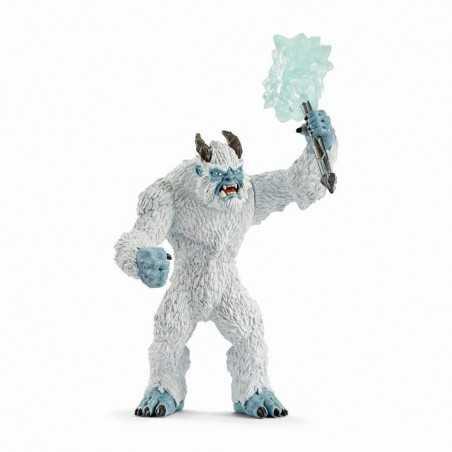 MOSTRO DEI GHIACCI snodabile con arma Schleich 42448 Eldrador Creatures Ice Monster